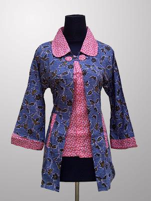 Model Baju Seragam Batik Kantor Terbaru