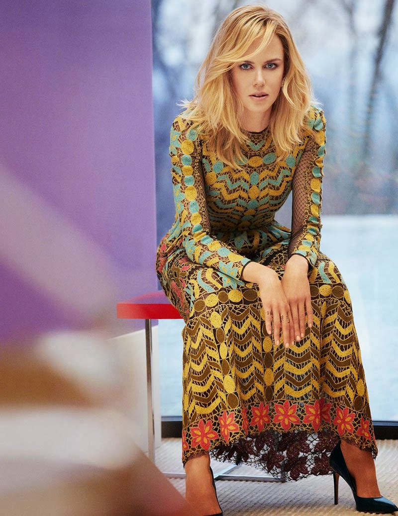 Nicole Kidman HQ Pictures InStyle US Magazine Photoshoot March 2014