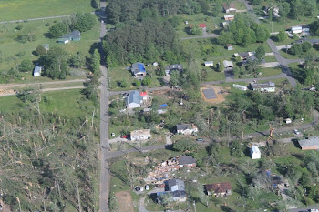 Aerial View of our neighborhood