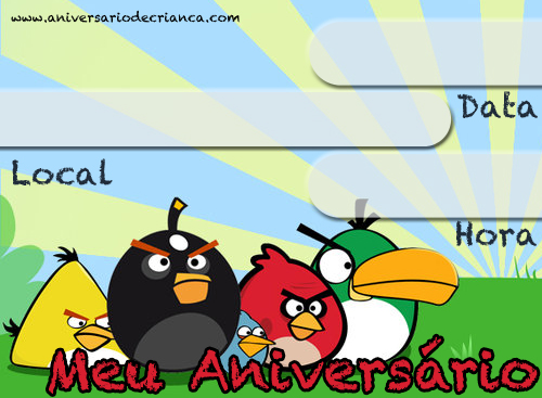 download its about Convite Dos Angry Birds Para Imprimir pic
