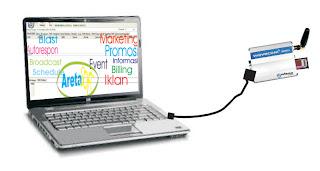 sms massal dengan laptop