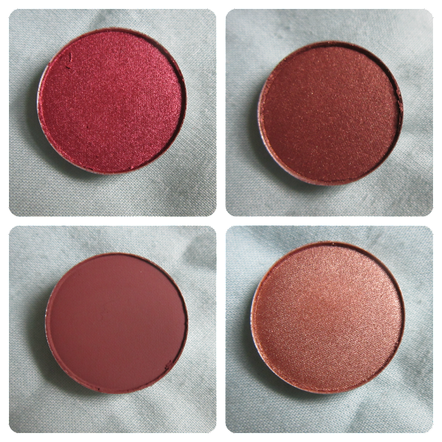 MAC make-up eyeshadow cranberry mulch woodwinked embark