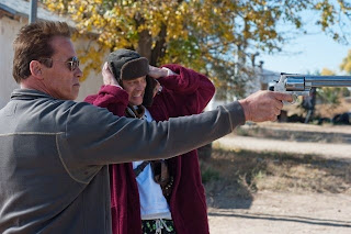 The Last Stand 2013 film gun scene