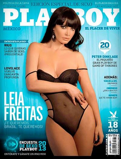 Leia Freitas - Playboy México - Setembro 2013