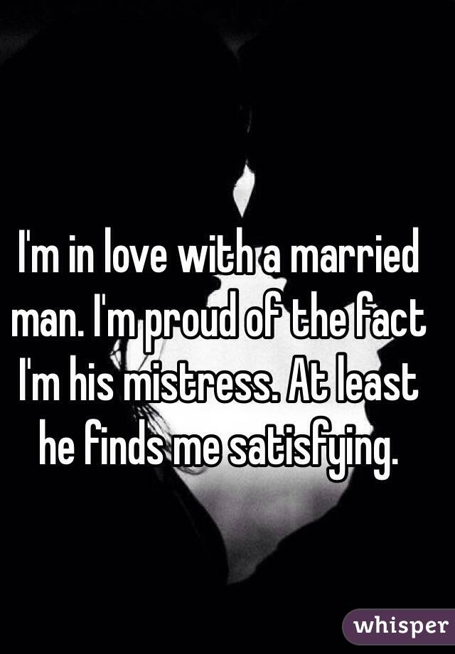 when you are in love with a married man