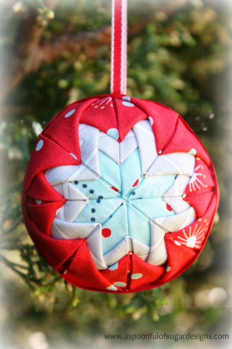 Folded star ornament a spoonful of sugar