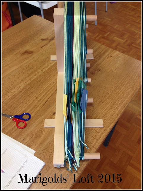 ashford inkle loom card weaving