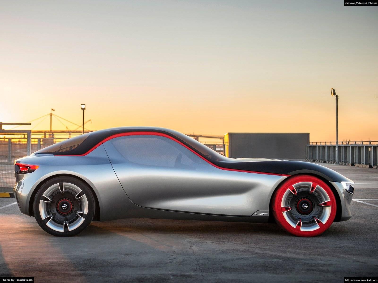 Hình ảnh xe ô tô Opel GT Concept 2016 & nội ngoại thất