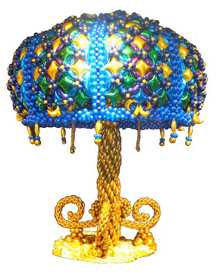 Balloon Lamp Sculpture