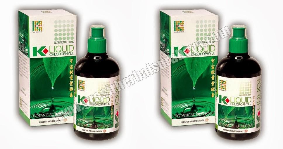 Klorophyllin adalah satu dari bahan pangan yang terbuat dari bahan alami, baik digunakan dalam bentuk cair.