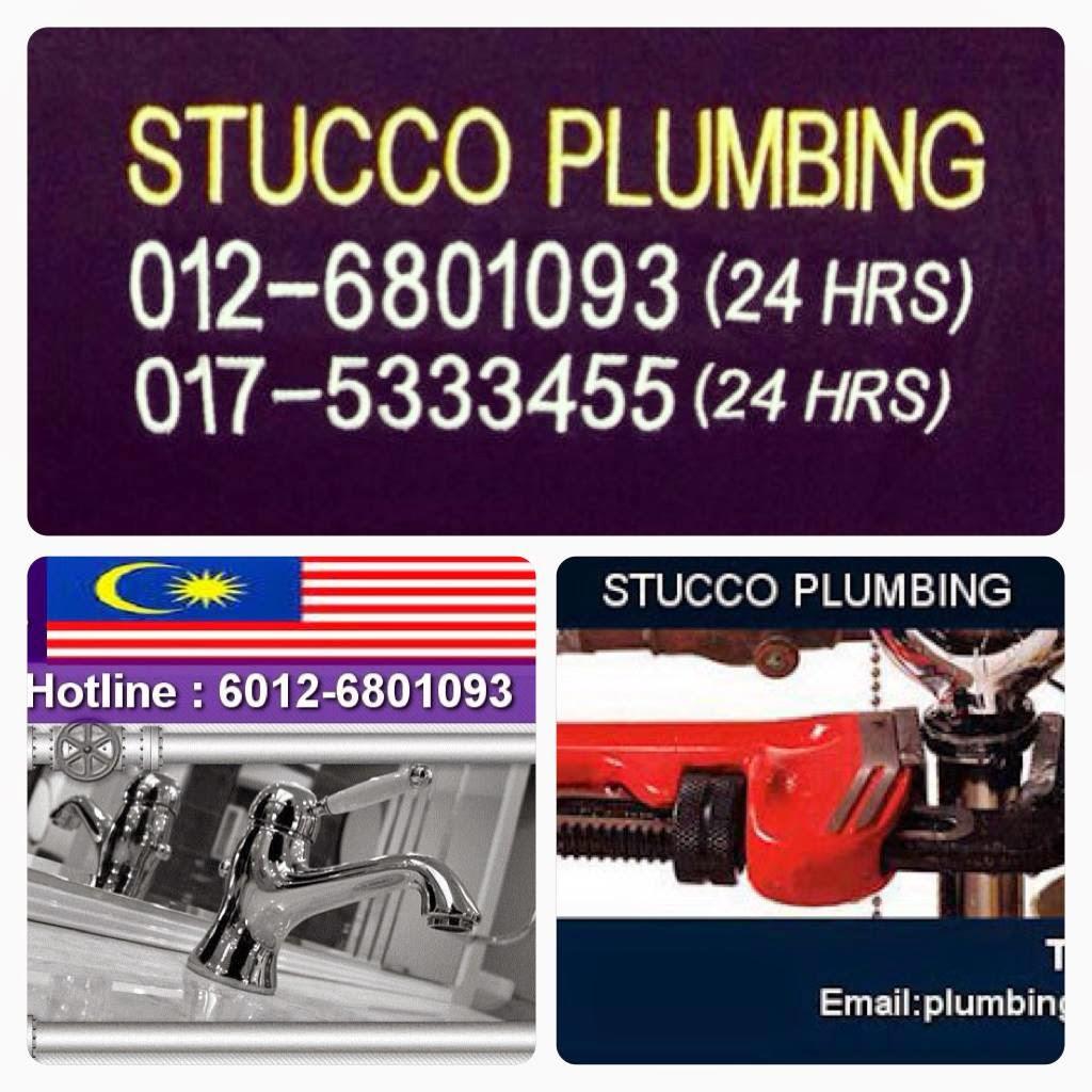 stucco plumbing