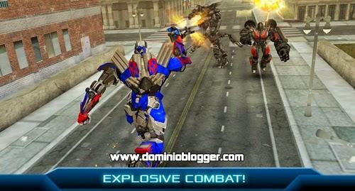 Descarga Transformers Age of Extintion gratis para Android