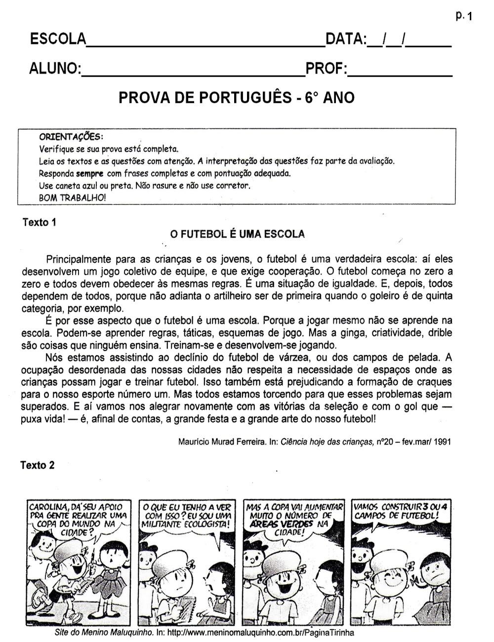 Portugu  S   L  Ngua Portuguesa Fl  1   4