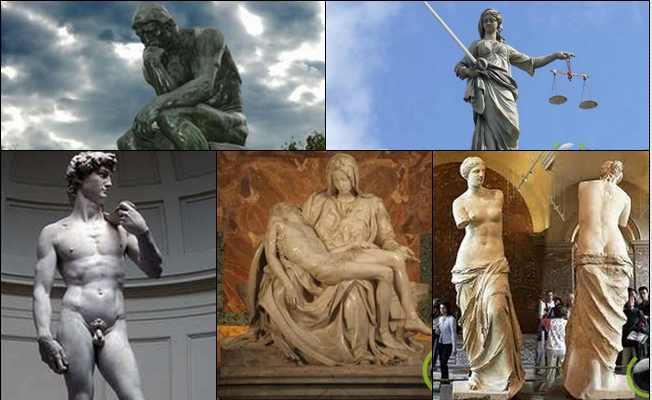 5 Pahatan Patung Rupa Manusia yang paling Terkenal di Dunia