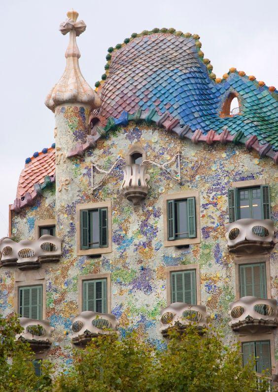 Barcellona gaudi 39 casa batllo 39 for Antoni gaudi opere