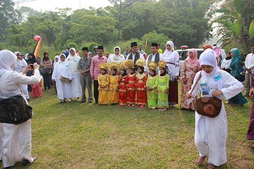 Acara Manasik Haji TK Sekecamatan IV Koto yang di Hadiri oleh Bapak Bupati Agam