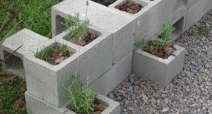 Decorando com tijolos decora o e inven o - Bloques de hormigon decorativos ...