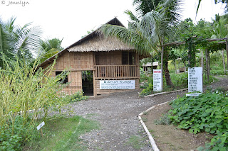 bahay kubo in the farm