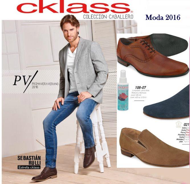 catalogo cklass caballero 2016 pv