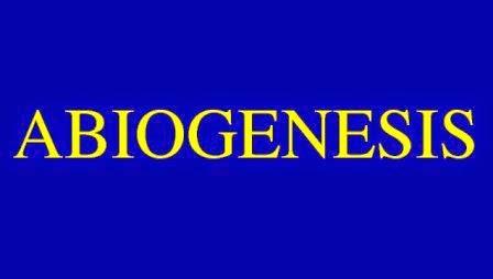 Teori Abiogenesis/Generatio Spontanea