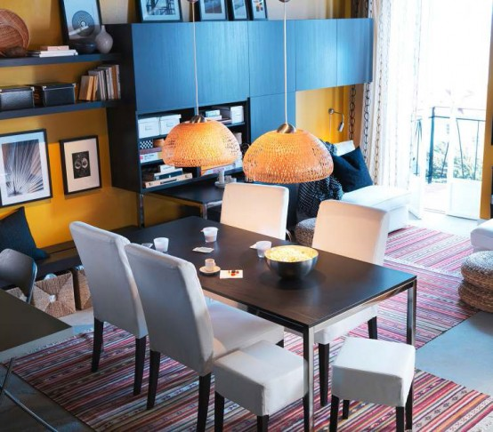 Ikea Modern Dining Room Decorating Ideas 2012jpg