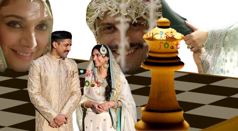 Wazir Teaser trailer still: Farhan Akhtar and Aditi Rao Hydari as bride and groom in Amitabh Bachchan starer Wazir: Just chess or life game?
