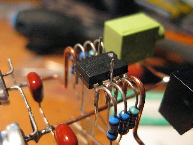 Ламповый звук на микросхеме для наушников
