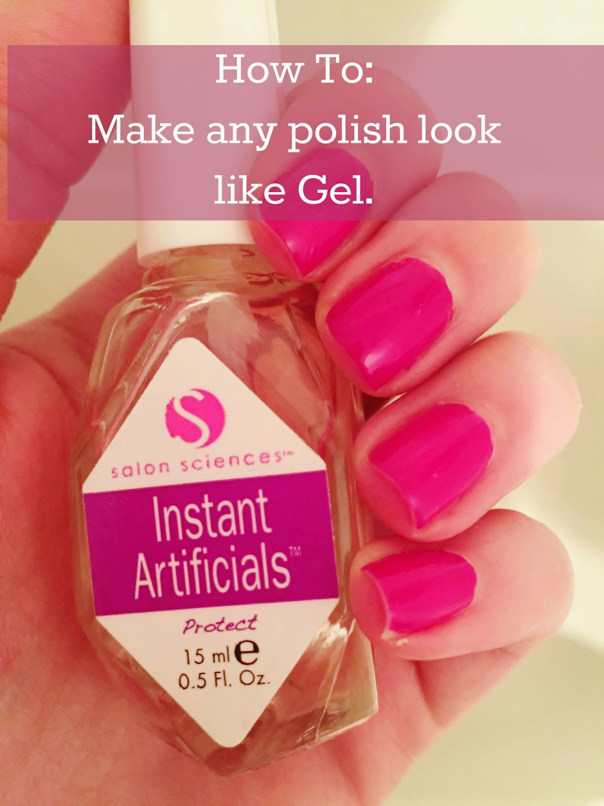 Young Beauty Lifestyle: Gel Nail Fake!! *How To Make Your Normal ...