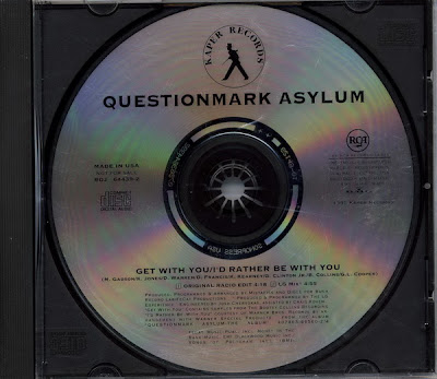 Questionmark Asylum – Get With You / I'd Rather Be With You (Promo CDS) (1995) (320 kbps)
