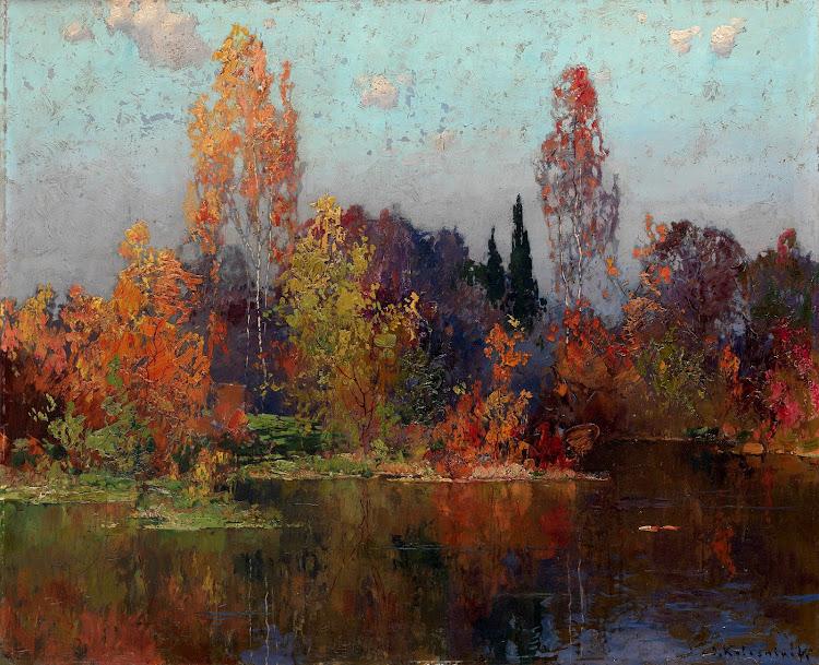 Stepan Kolesnikov (1879-1955) - Autumm