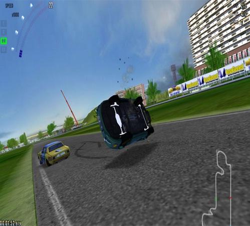 لعبة سيارات السباق المستحيل Racing Impossible