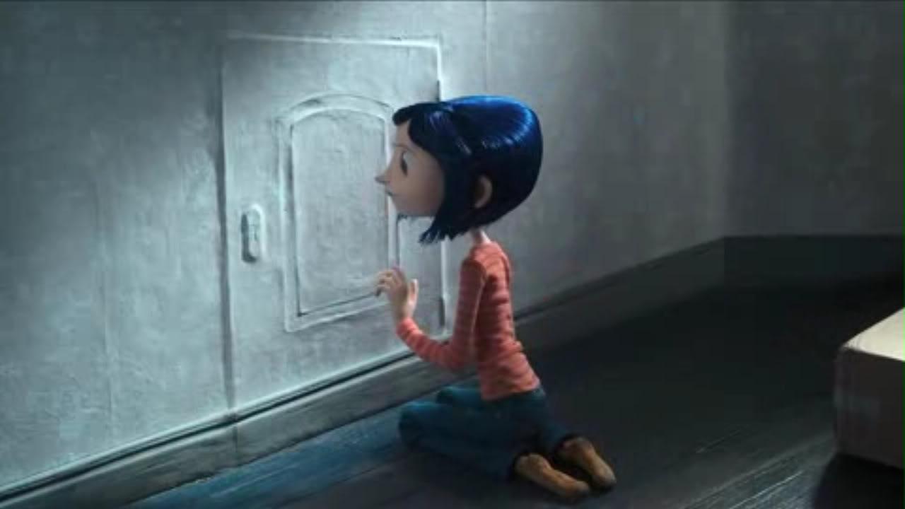 I libri sono un antidoto alla tristezza dal libro al film - Coraline e la porta magica film ...
