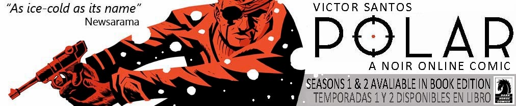 Polar on-line comic