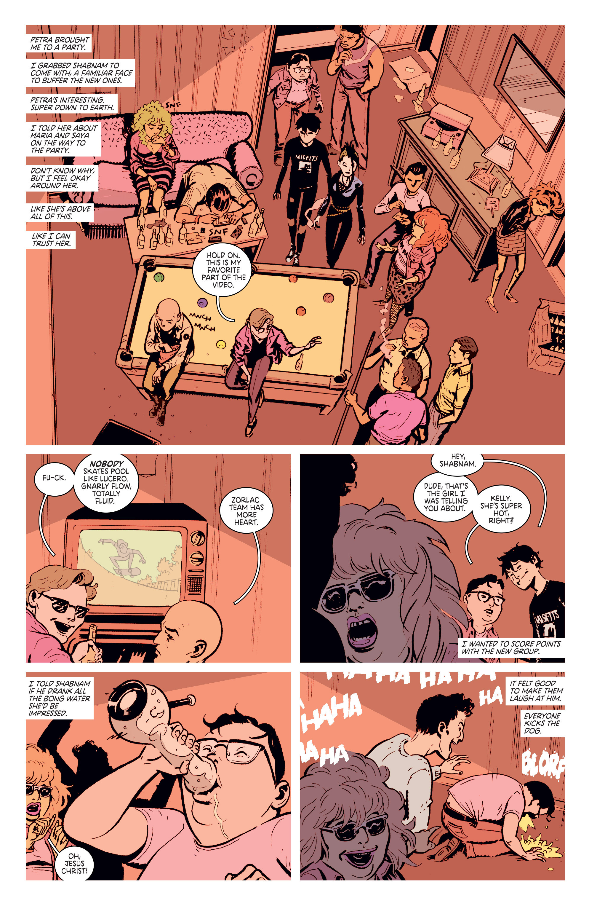 Read online Deadly Class comic -  Issue # _TPB 3 - 65