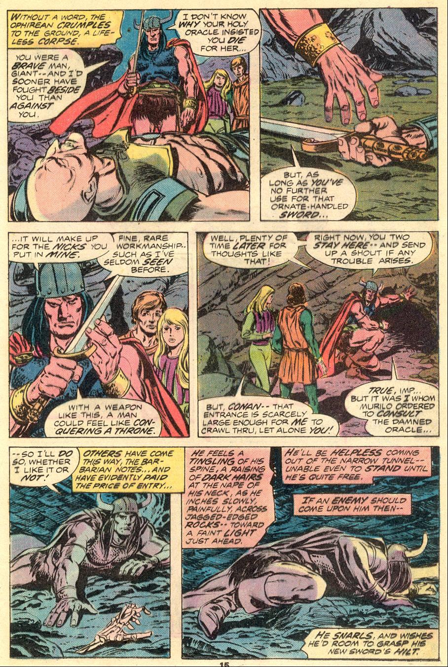Conan the Barbarian (1970) Issue #54 #66 - English 10