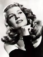 Rita Hayworth's beautiful sexy hair