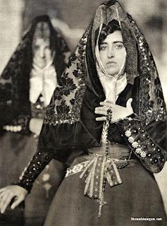 Candelaria con el traje de Misa, Candelario Salamanca