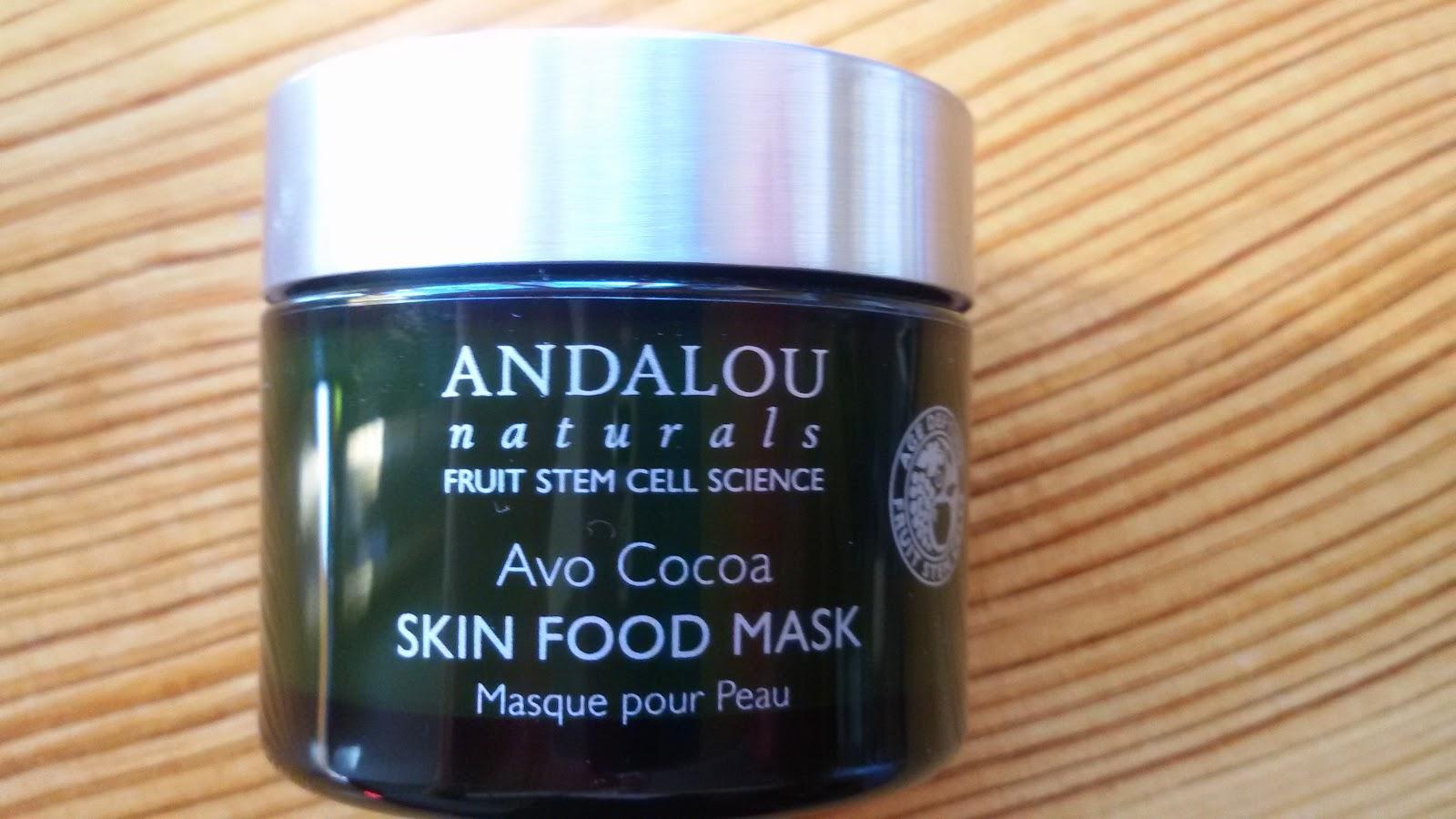 Andalou Naturals Avo Cocoa Skinfood Mask