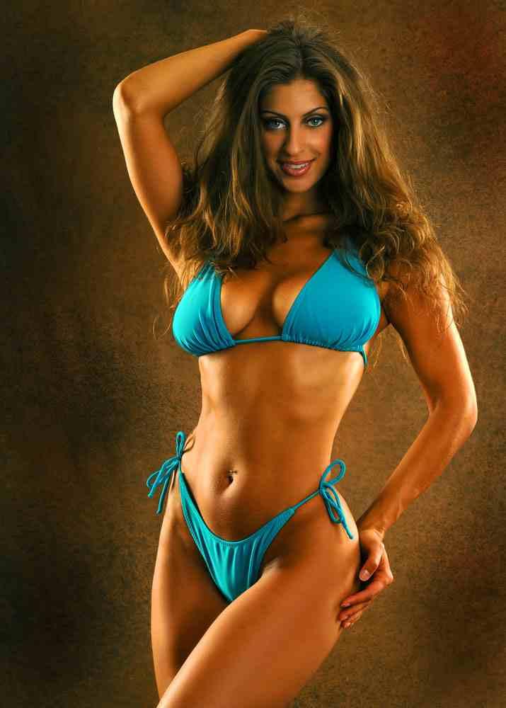 Sadie The Belly Dancer In A Hot Bikini