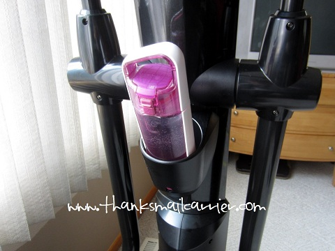 elliptical machine water bottle holder