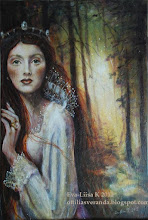 Saga, acrylic painting