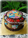 Choc Moist Birhday Cake