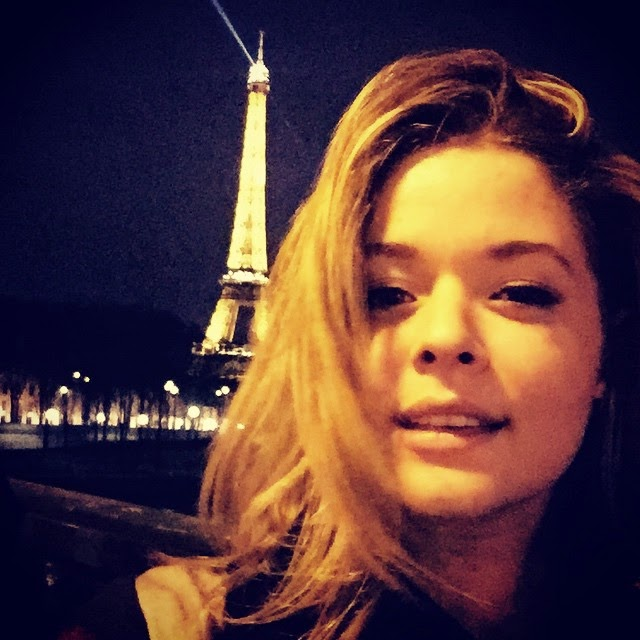 Sasha Pieterse in Paris
