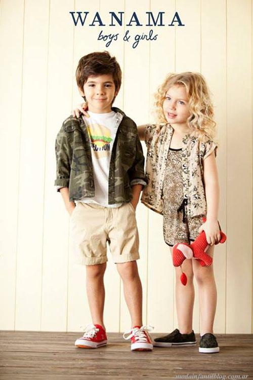 wanama ropa para chicos primavera verano 2014