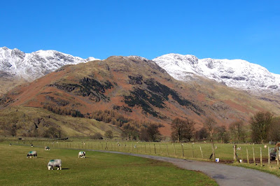 Bowfell in spring