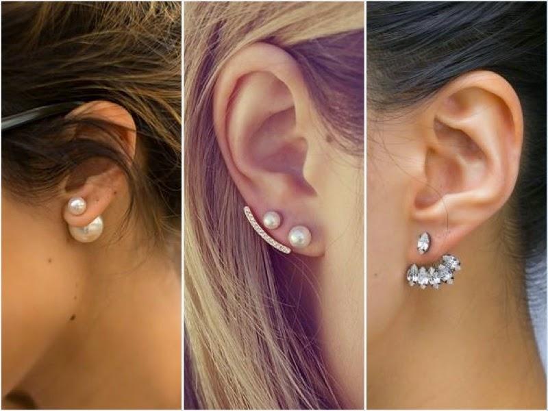 Ohrringe neuester trend