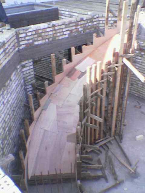 السلم المدور - Radial Stairs