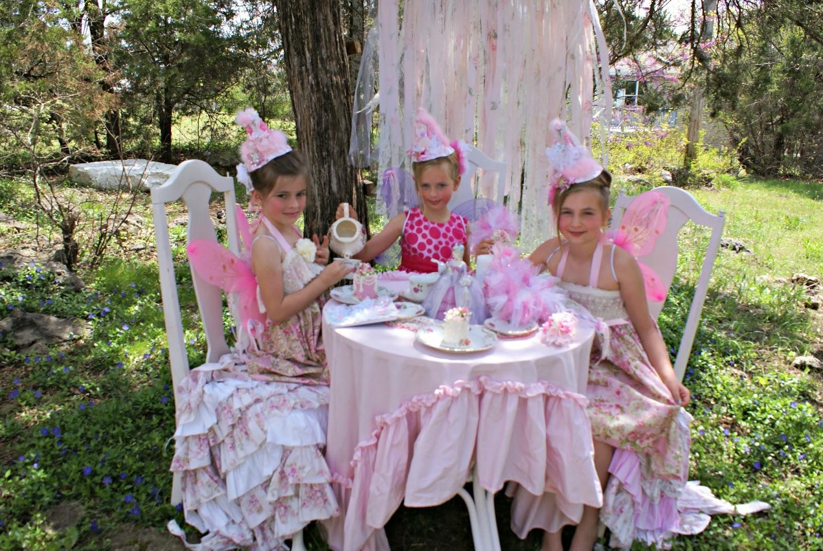 Olivia 39 S Romantic Home Fairy Princess Garden Tea Party