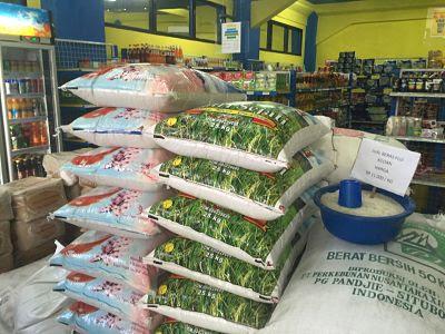 Bali rice,