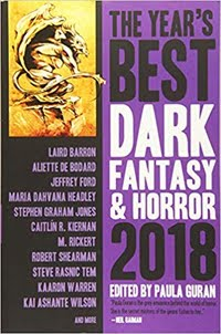 BUY Year's Best Fantasy & Horror 2018